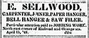 Enos jobber adv 1848 Syracuse NY Daily Star 21 Apr