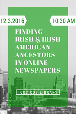 finding your irish american roots