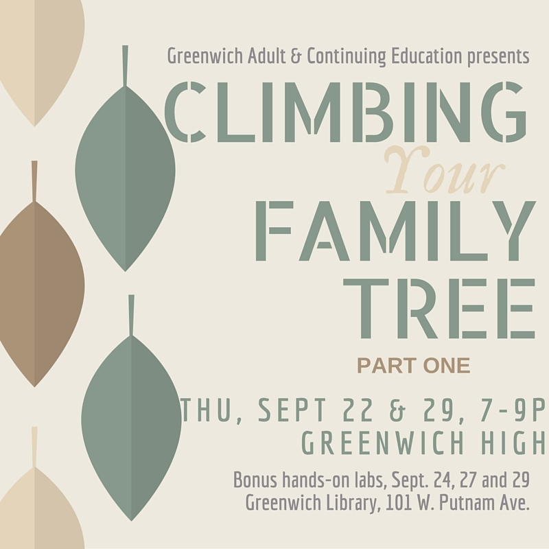 climbing your family tree course
