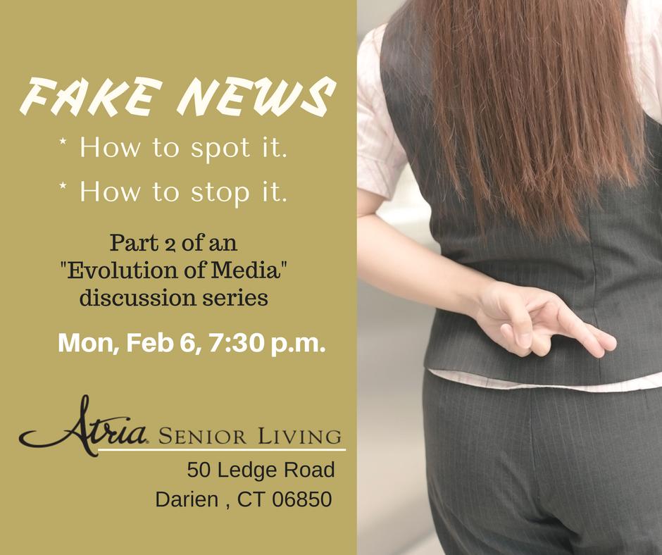 Fake News event Darien CT