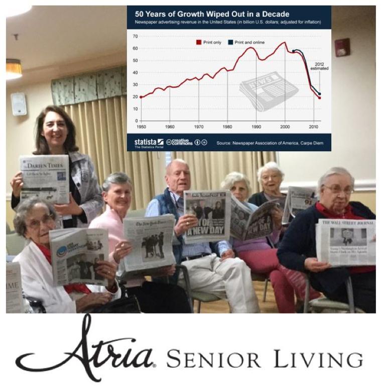 atria senior living genealogy event