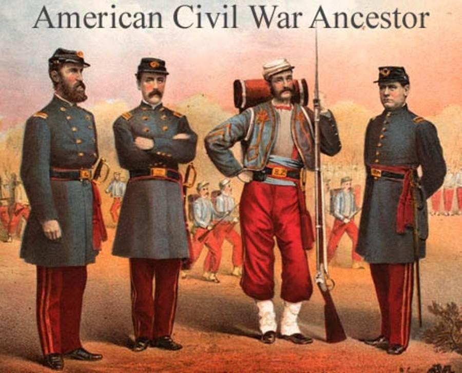American Civil War Ancestor Class