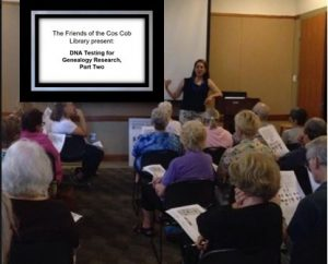 DNA Research at Cos Cob Library