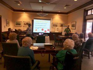 Edgehill retirement community courses