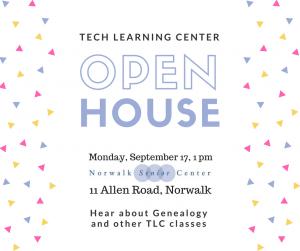 Norwalk Senior Center Open House
