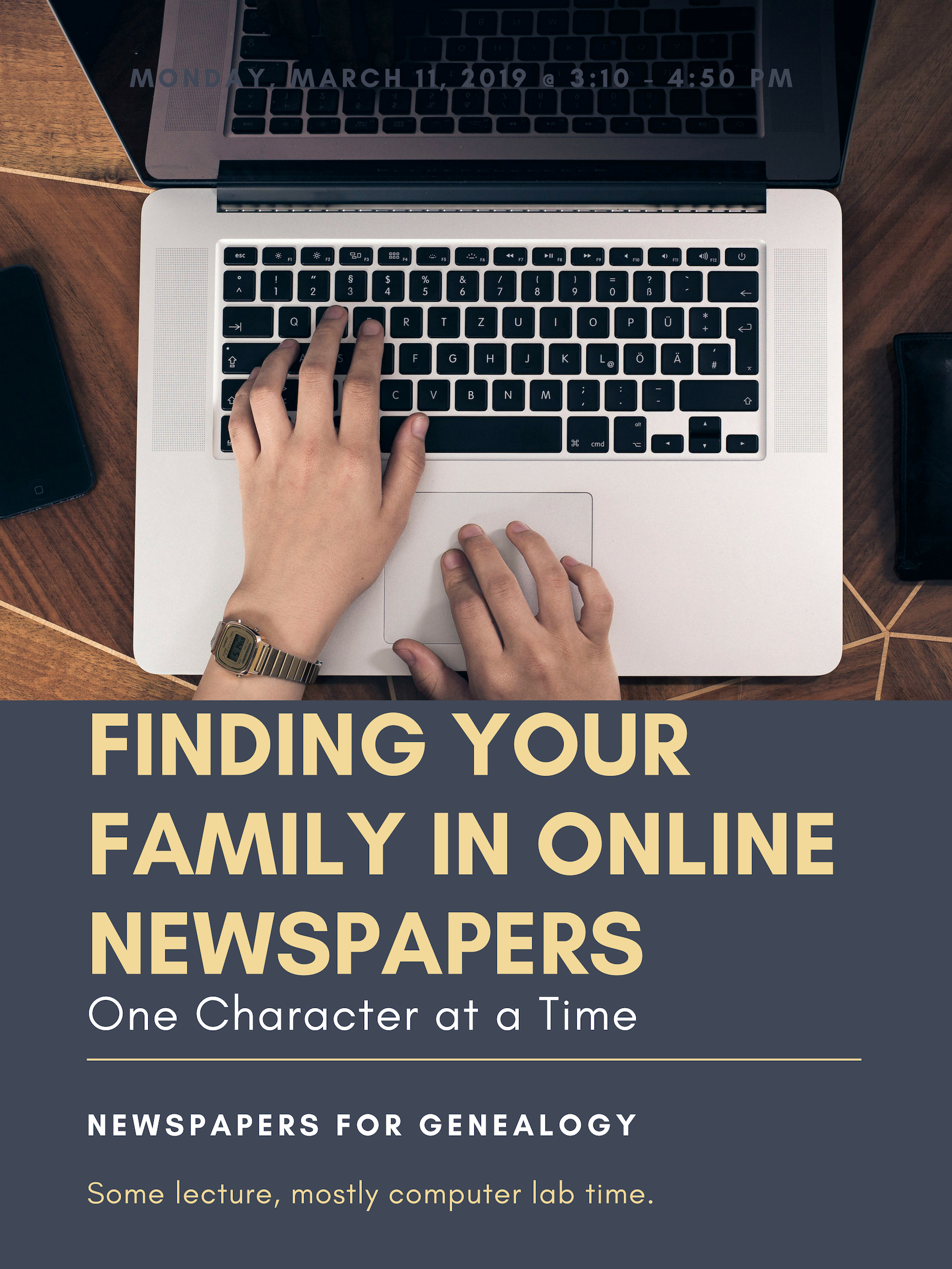 Finding your family in downtown newspapers