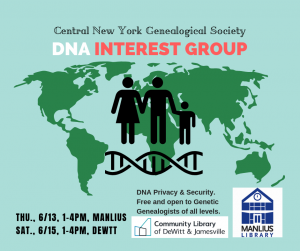 CNYGS DNA Interest Group