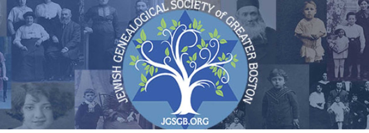 Jewish Genealogical Society of Greater Boston