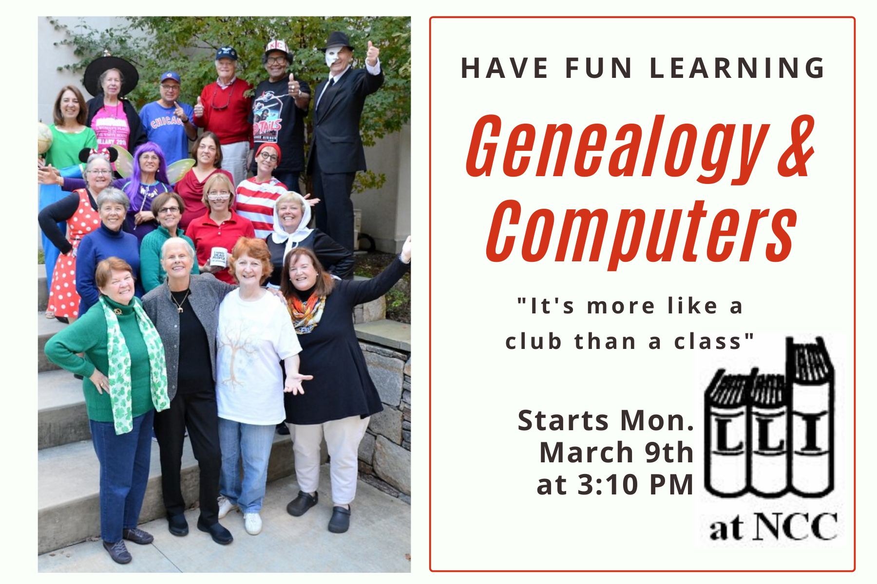genealogy course mothers day