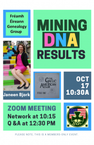 mining DNA results event