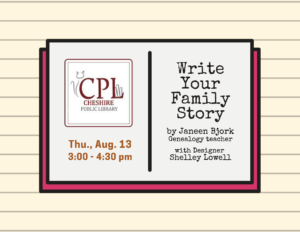 write your family story event