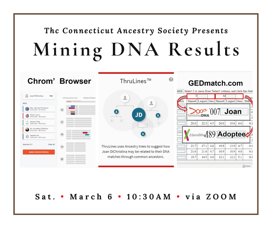 mining DNA results