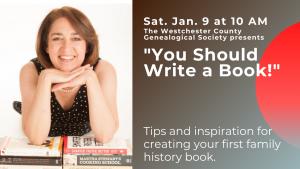 You Should Write a Book Genealogy Course