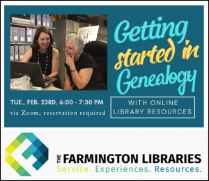 getting started in genealogy