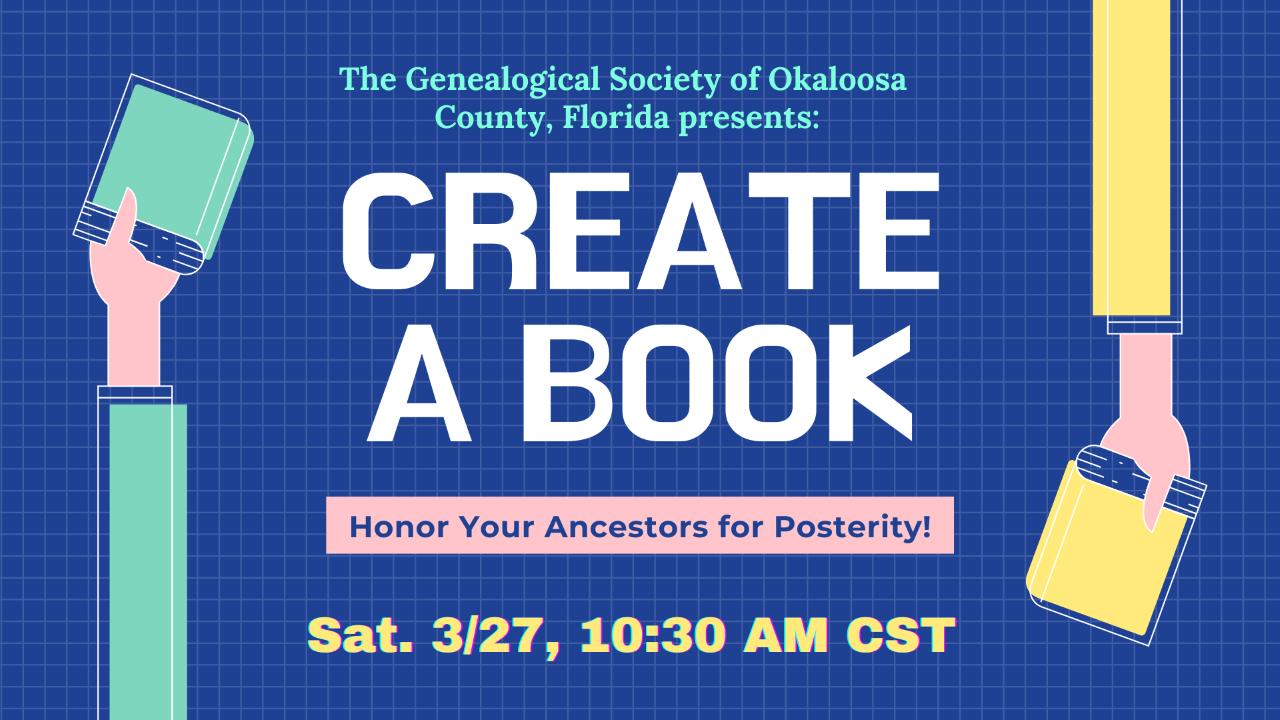 Create a Book Genealogy Course