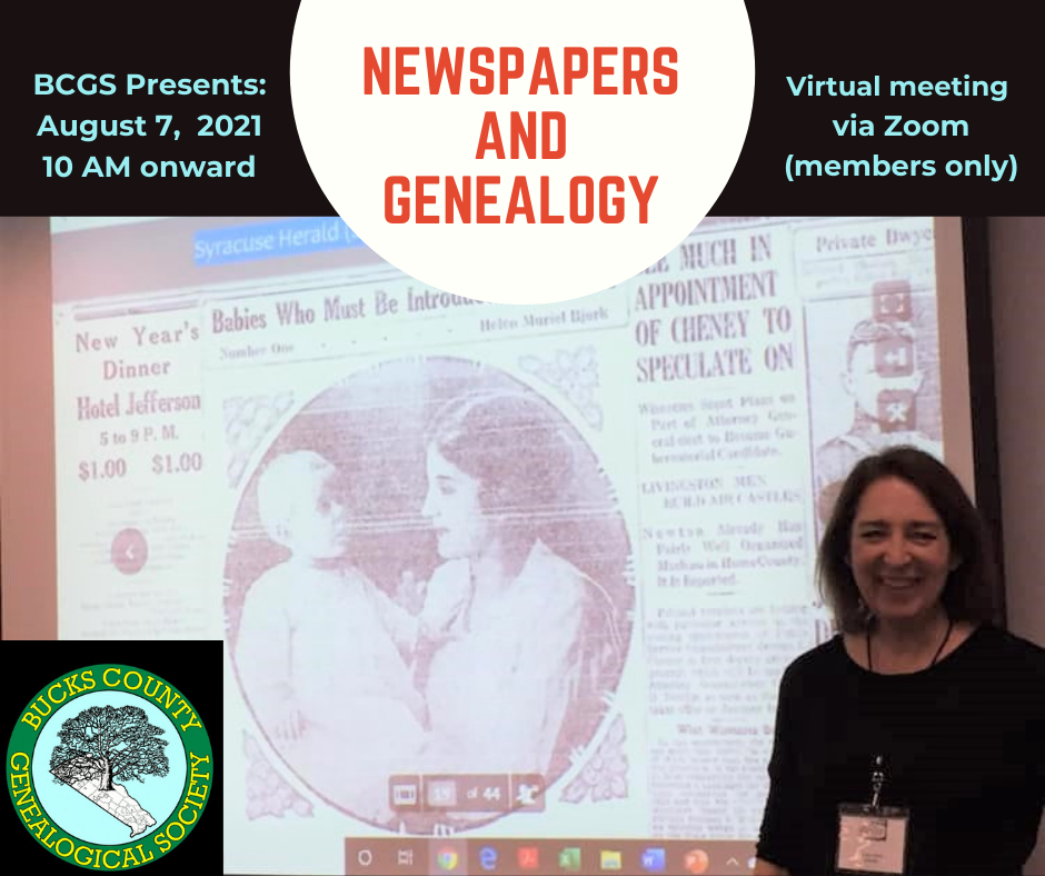 newspapers and genealogy