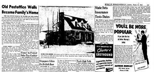 Patsy Quadrini builds home
