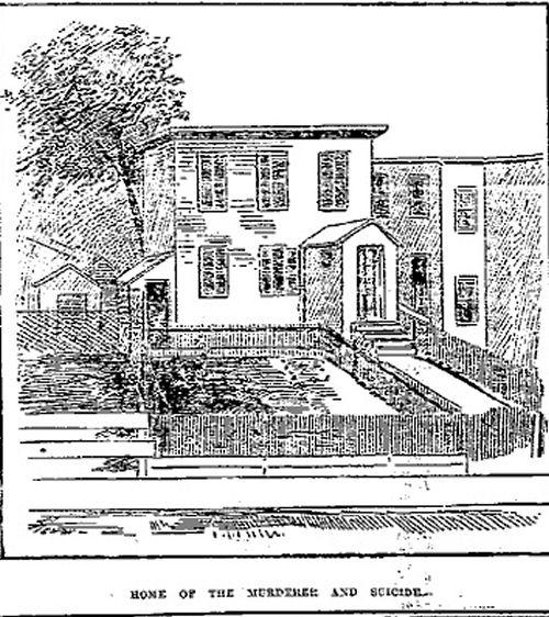 Strutz murderer Vogler's home artist rendering of