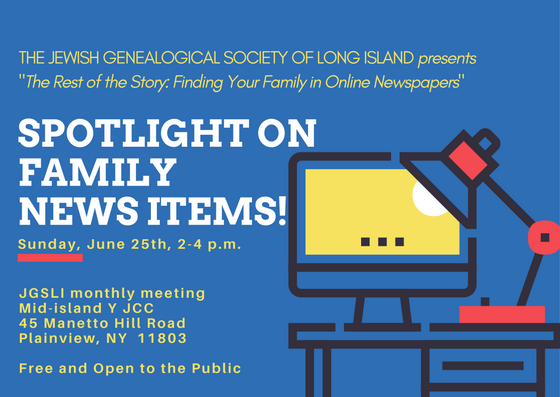 Spotlight on Family News Items