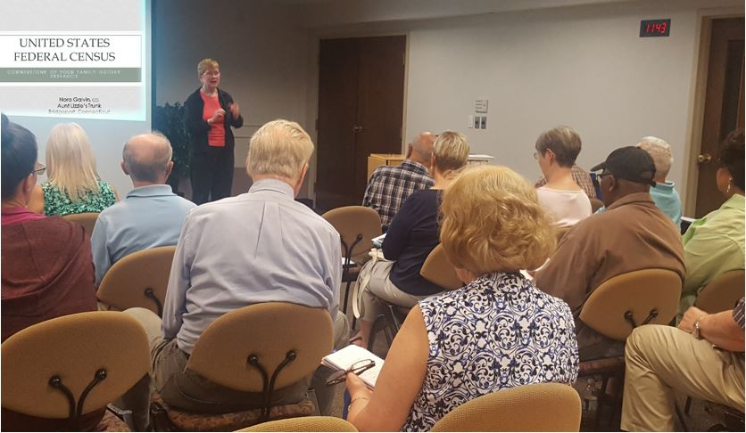 Nora Galvin Genealogy Lecture Danbury Library