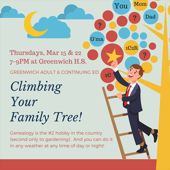 climbing your family tree course greenwich high school