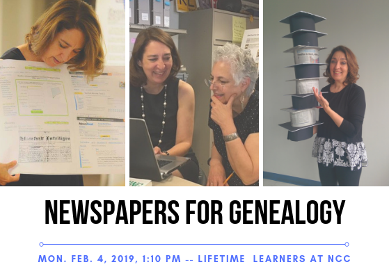 Norwalk Community College Genealogy course