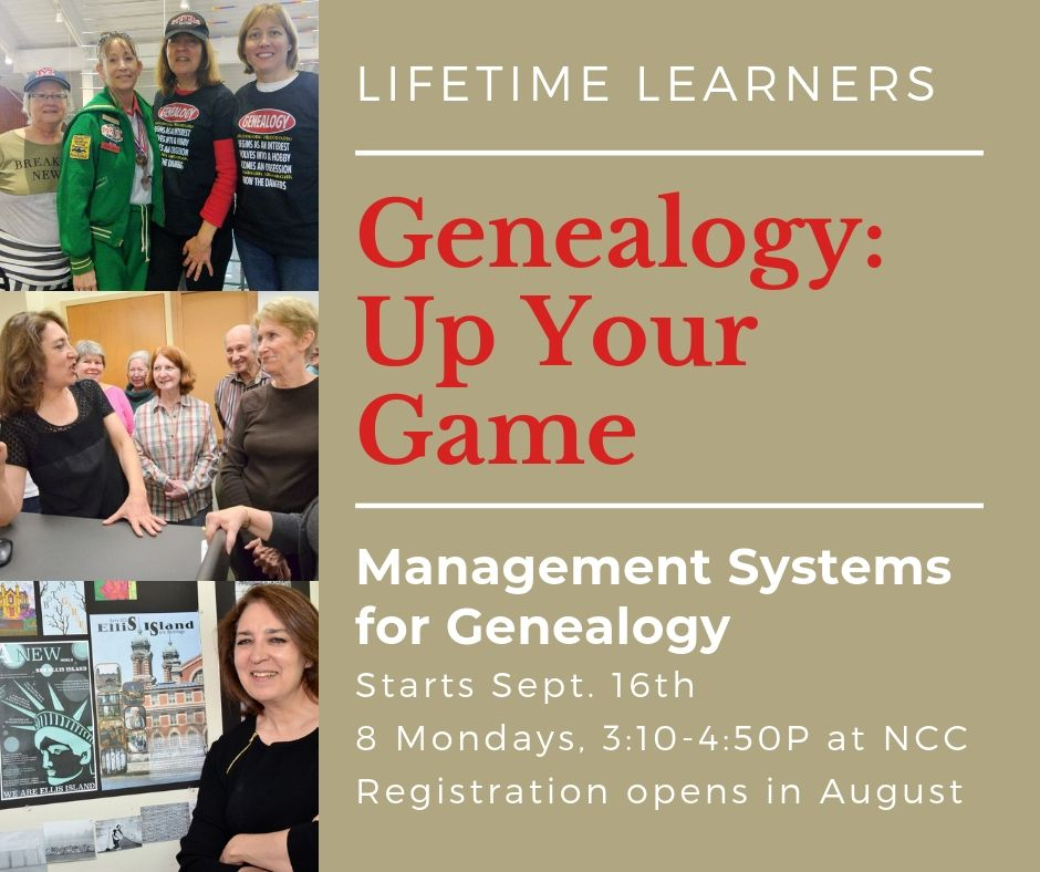 Genealogy Course