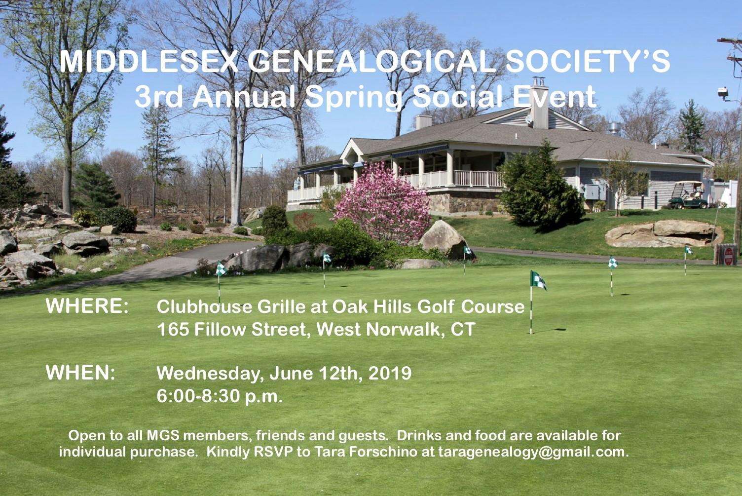 genealogical summer social