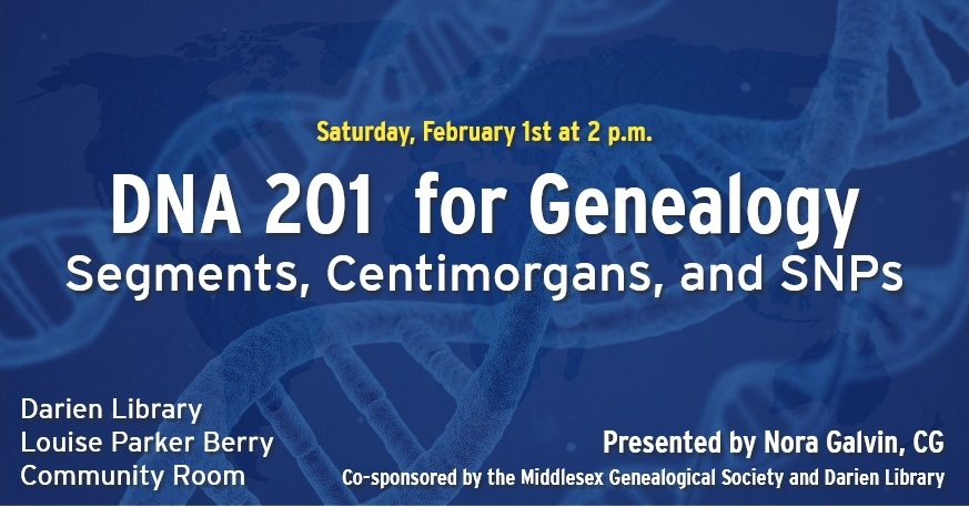 Darien Library Genealogy Event