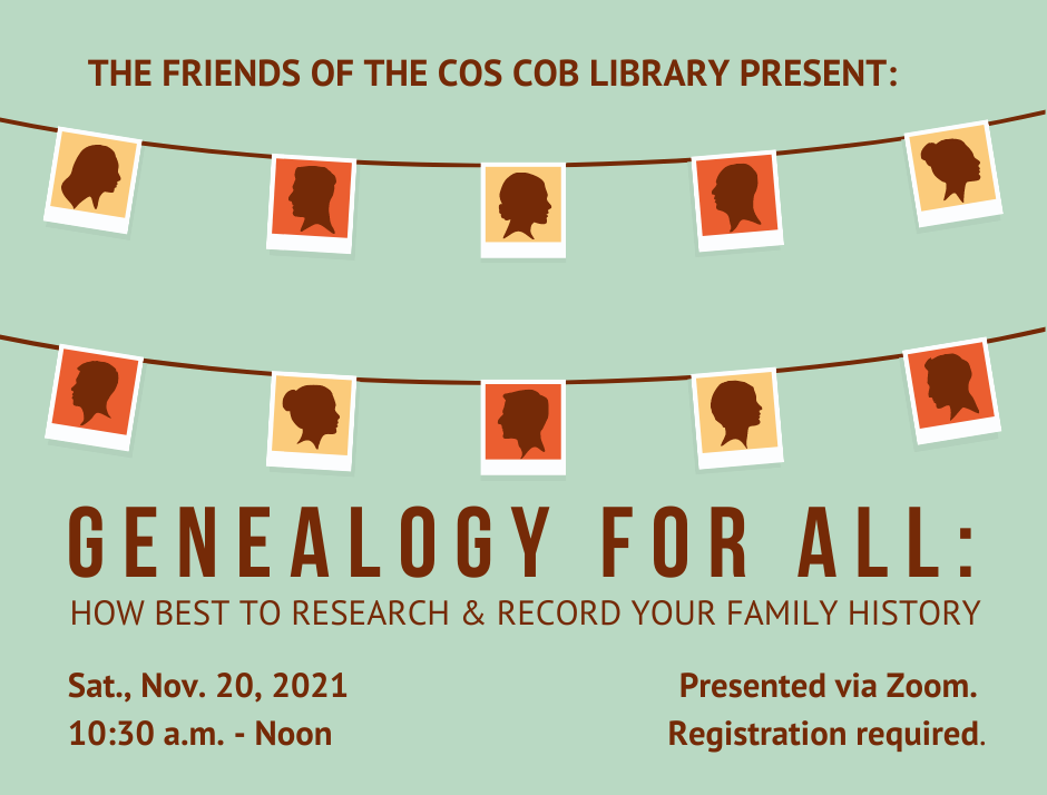genealogy for all class