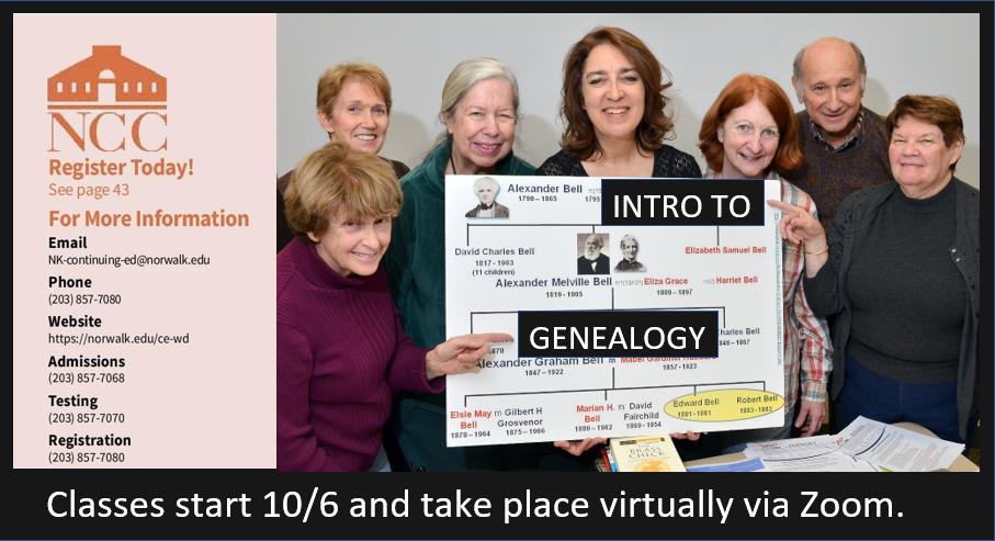 genealogy event